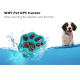 Collier GPS Pour Chien Chat iPhone Android iPhone Micro Espion Traceur Antiperte Etanche IP66 WIFI Or - Traceur GPS - www.yon...