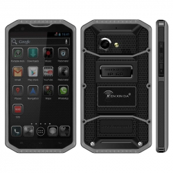 Tel Portable Android Smartphone Double SIM 2 Caméra IP68 Tactile IPS