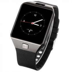 Smart Watch Android Montre Tactile SIM WiFi Caméra Bluetooth GPS Noir