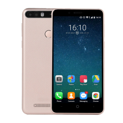 Smartphone 5,0 Pouces Ecran IPS HD 2 Go RAM + 16 Go ROM Android 7.0 Or Rose