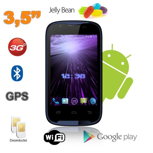 Smartphone Android 3.5 pouces pas cher