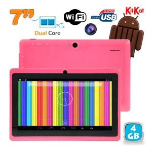 tablette-tactile-android-4-4-kitkat-7-pouces-dual-core-4go-rose