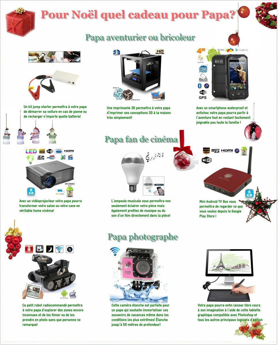 guide pour no l quel cadeau pour papa. Black Bedroom Furniture Sets. Home Design Ideas