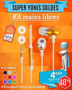 Kit Mains Libres