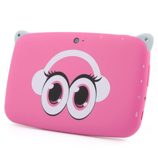 tablette tactile enfant yokid mini 43 pouces android 42 rose 4go