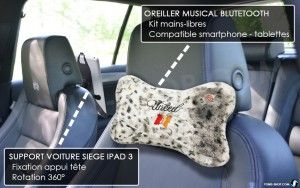 coussin bluetooth auto