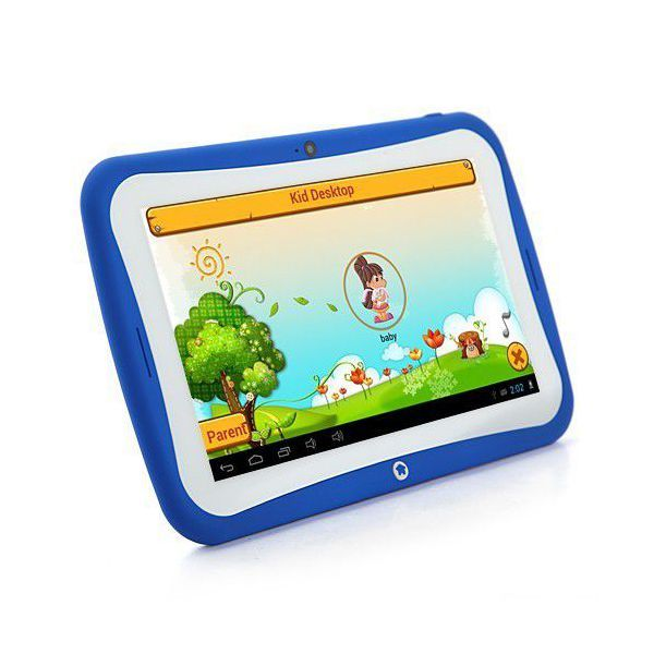 tablette tactile enfant educative 7 pouces android 4 2 2 bleu 8go
