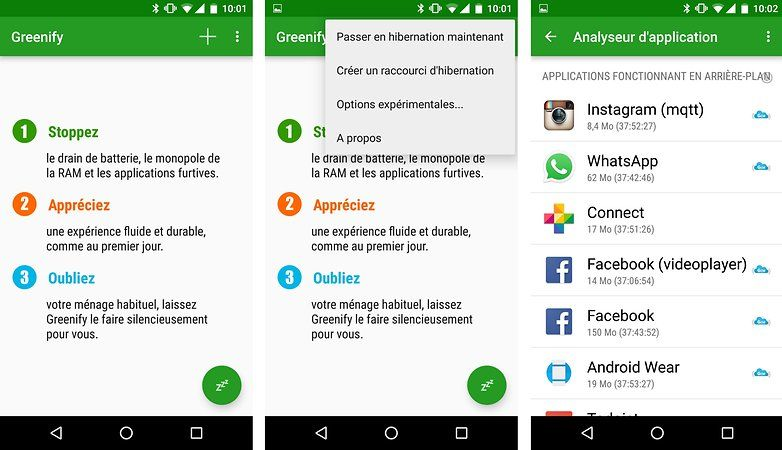 Greenify, l'application pour optimiser la batterie de sa tablette tactile android