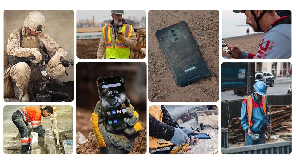 Téléphone antichoc adapté pour tout les corps de métier.