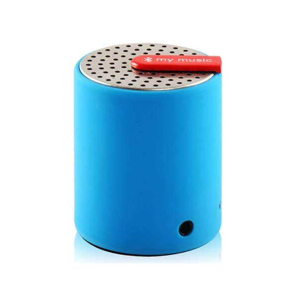 Mini enceinte bluetooth bleue