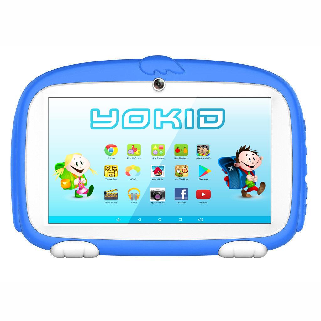 Vue de face de la tablette enfant