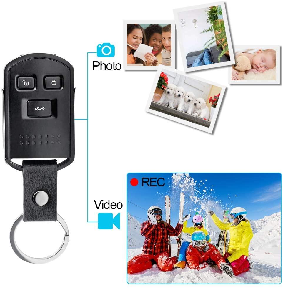Prenez des vidéos et des photos avec ce porte clé caméra espion